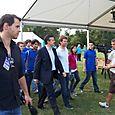 Avec Yves Jégo et les Jeunes Populaires de Seine-et-Marne