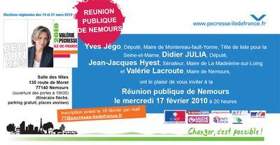 Invitation Nemours