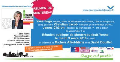 Invitation Montereau