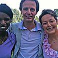 Avec Hamida Rezeg et Claudine Thomas
