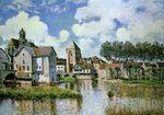 Sisley-alfred-moret-sur-loing-1891