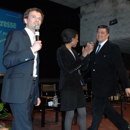 Avec Hamida Rezeg et David Douillet