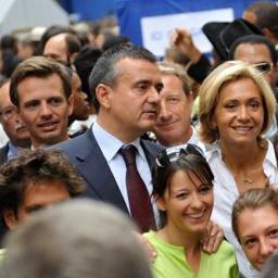Avec Yves Jégo, Valérie Pécresse, Jean-François Onetto et Chrystel Sombret