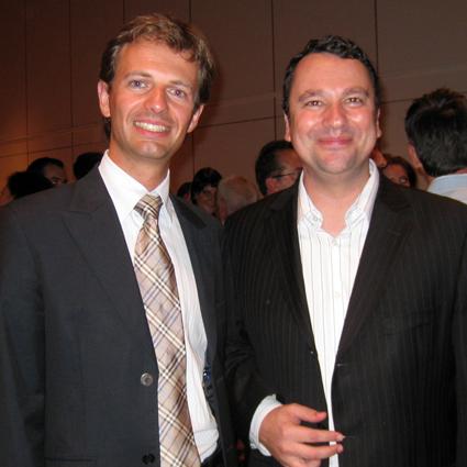 Avec Franck Reynier