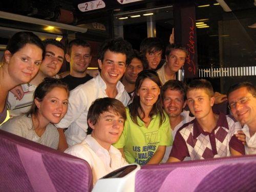 Avec les Jeunes Populaires de Seine-et-Marne