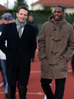 Avec Ronald Pognon