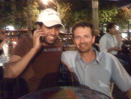 Avec Abdoh Otaif