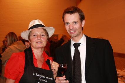 Avec Sylvie Monchecourt