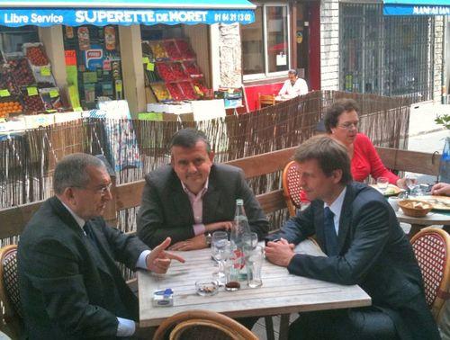 Avec Yves Jégo et Jean-Jacques Hyest